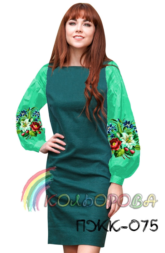 Плаття жіноче комбіноване ПЖК-075 Плаття жіноче комбіноване ПЖК-075 226213888b605