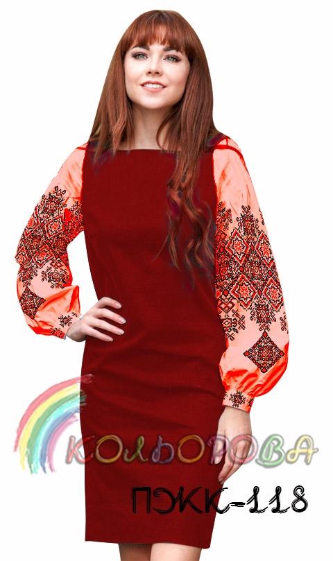 Плаття жіноче комбіноване ПЖК-118 Плаття жіноче комбіноване ПЖК-118 b5c33ac49707a