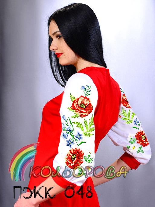 Заготовка під вишивку жіночого комбінованого плаття ПЖК-048 8ba4e3d263180