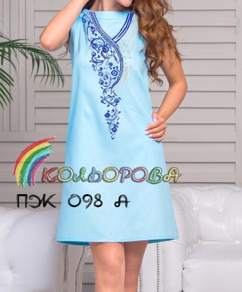 Заготовка плаття без рукавів під вишивку ПЖб р-098А 9c8af2e70ae11