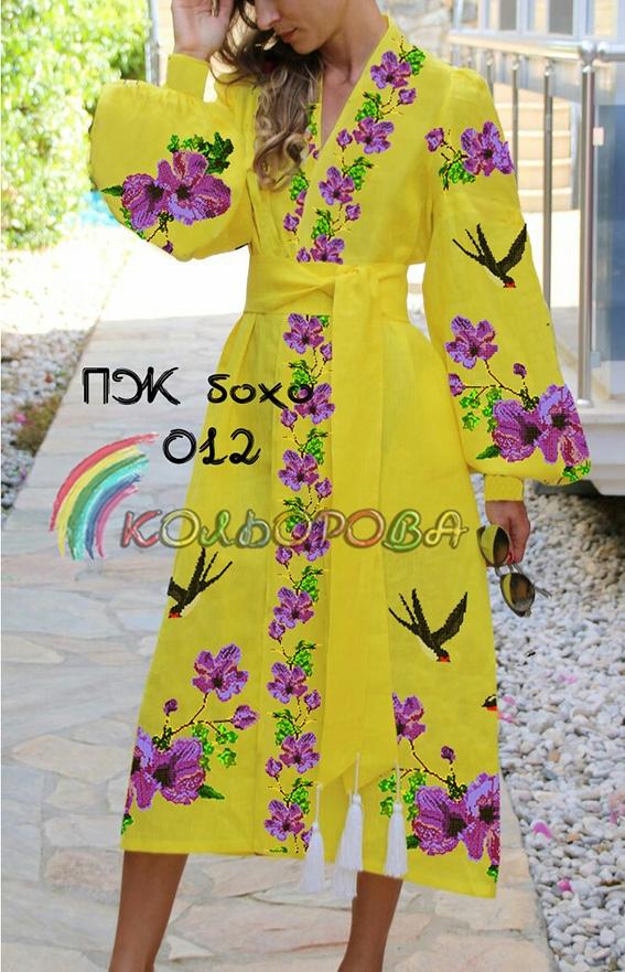 Заготовка під вишивку жіночого плаття в стилі бохо-012 (довге) 6710a2c6daffe